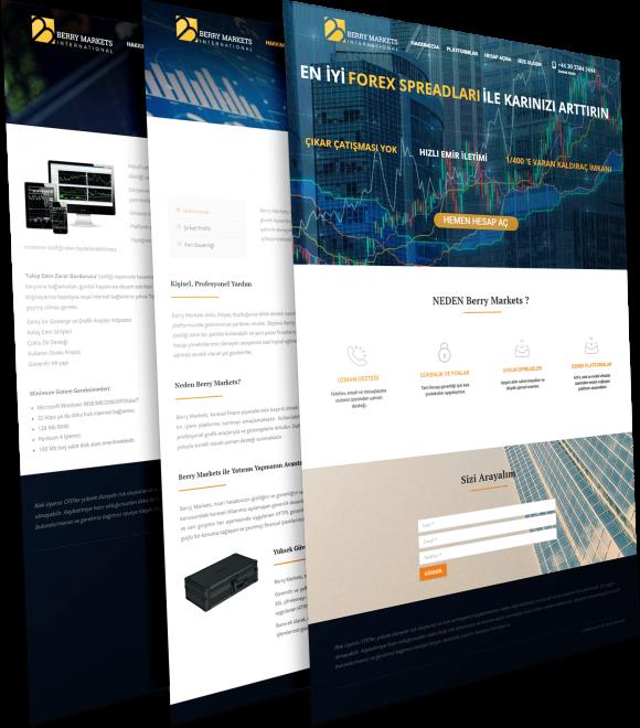 forex site tasarımı